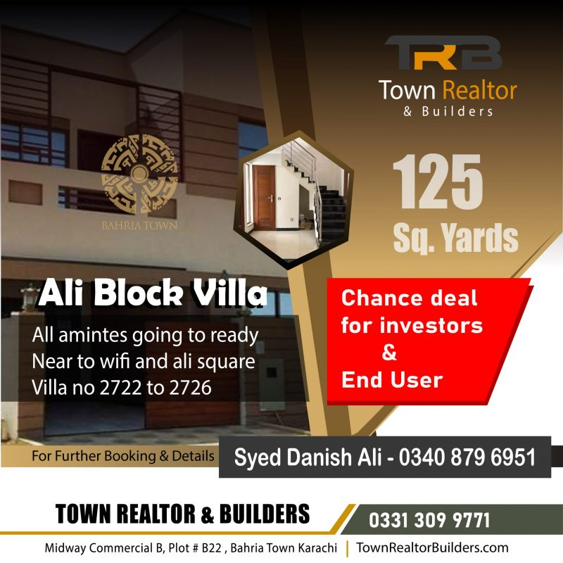 ali block villa